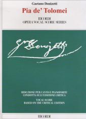 138864. Доницетти. Пия де Толомеи. Клавир.