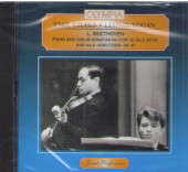 CD. Бетховен. Сонаты № 3, 5, 9 для скрипки. МКМ 195.