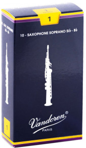 Трость для саксофона сопрано №1 Vandoren SR201.