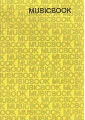 Тетрадь для музыканта Musicbook.
