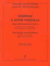Десятников. Hommage a Astor Piazzola. Партитура.