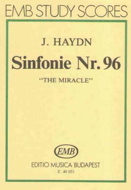 "EMB 40 031. Гайдн. Симфония № 96 ""Чудо"". Карманная партитура."