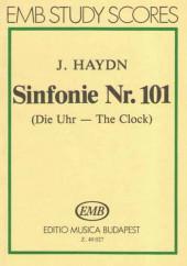 EMB 40 027. Гайдн. Симфония № 101 Часы (ре-мажор). Карманная партитура.