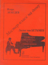 "Лебедев. Бетховен. Мастер класс на дому. Соната ""Аппассионата"" для фортепиано."