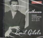 CD. Бетховен. Концерты №4 и №5 для фортепиано. МКМ 168.